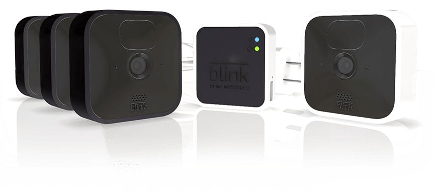 Product display of Blink